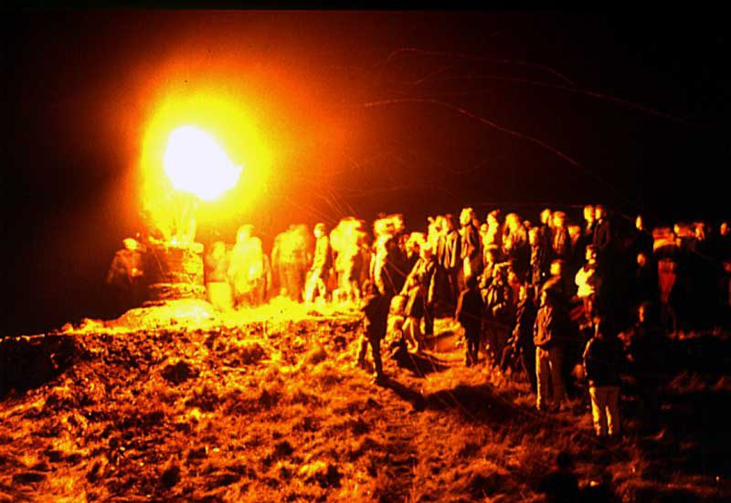 Burghead - Burning of the Clavie