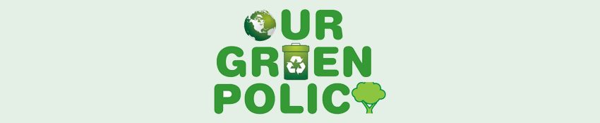 Going Green - Our Green Policy Logo