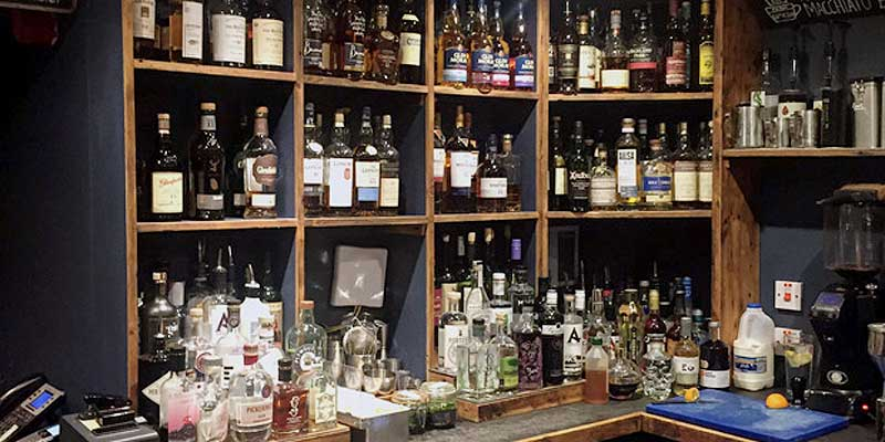 The Drouthy Cobbler bar offers over 100 malt whiskies