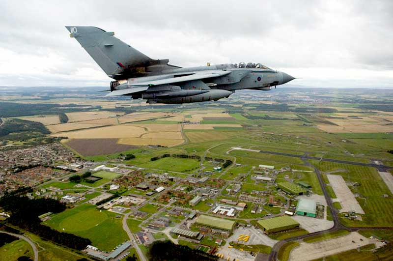 Located Near RAF Lossiemouth