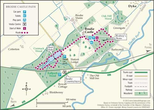 Great Walks - Brodie Castle Path