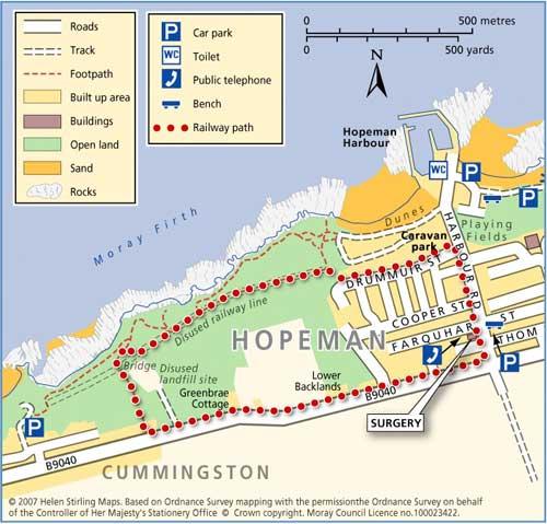 Great Walks - Hopeman Railway Path