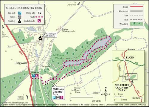 Great Walks - Millbuies Country Park