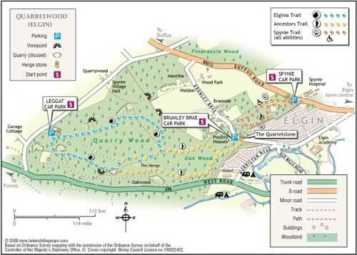 Great Walks - Quarrel Wood Trail