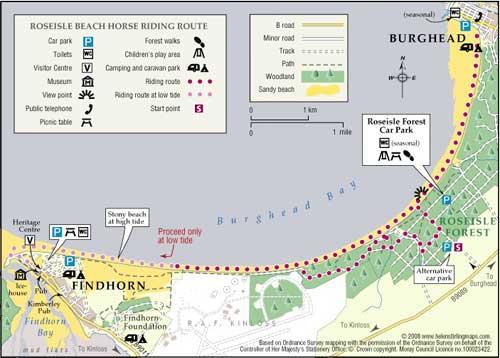 Great Walks - Roseisle Beach Walk