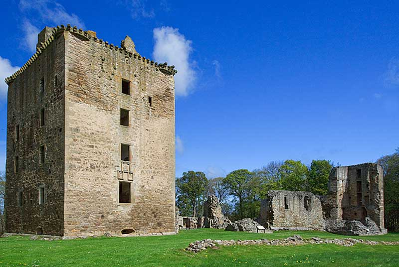 The magnificent ruins of Spynie Palace