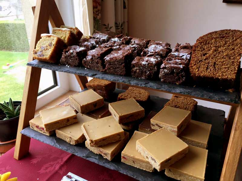 Chimes, delicious home bakes, with gluten free, vegetarian and vegan options