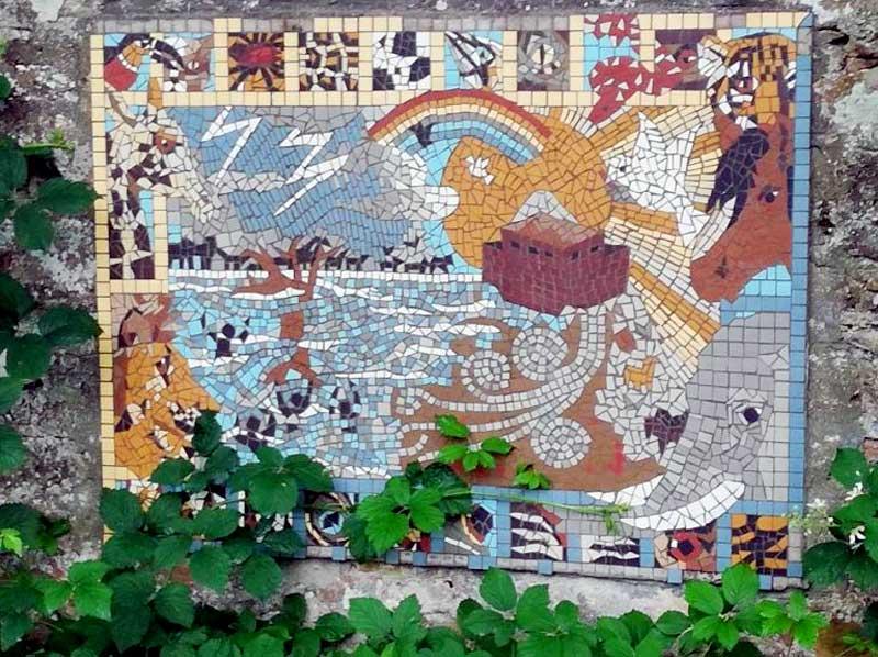 Elgin Biblical Garden - Fantastic Mosaics