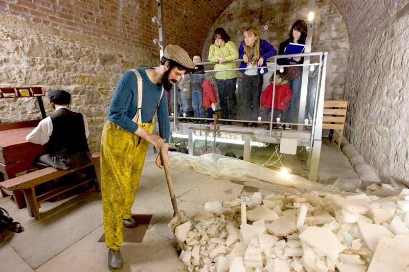 Findhorn Icehouse and Heritage Centre - Inside